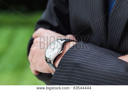 Expensive Watch Closeup
