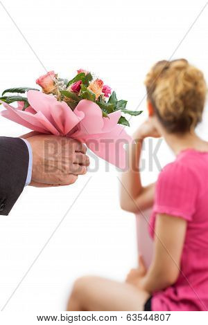 Flowers For Touchy Woman