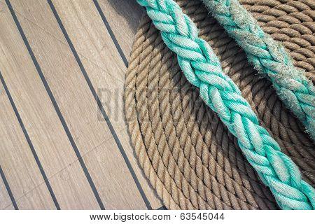 Background Deck Sailing Ship