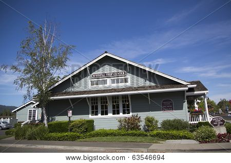 Whistle Stop Center in Yountville, Napa Valley