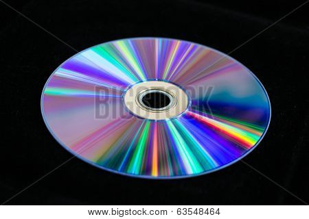 DVD Reflects Sunlight