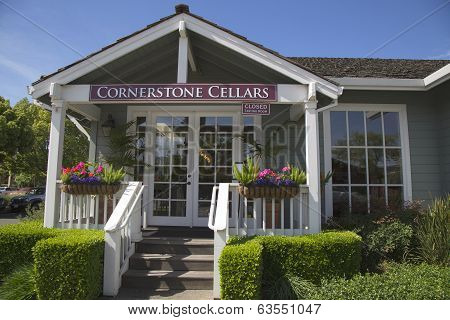 Cornerstone Cellars in Yountville