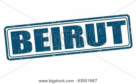 Beirut Stamp