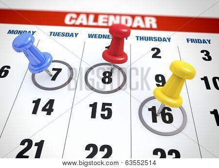 Calendar Planning Concept
