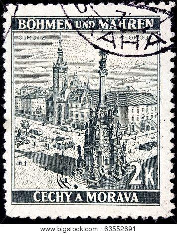 Olomouc 1942 Stamp