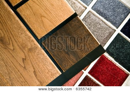 Wood And Carpet