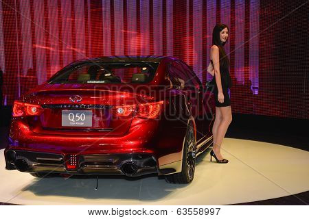 Infinity Q50 At The Geneva Motor Show