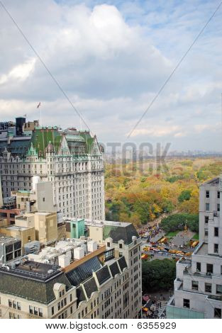 Plaza Hotel and Central Park