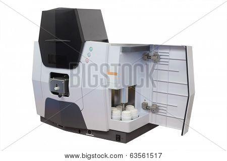 sterilizer under the white background