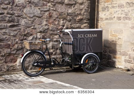 Ice Cream Cart With Bicycle