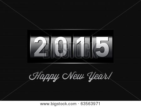 New Year counter 2015.