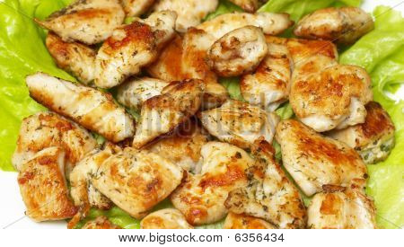 Roasted Chicken Slice