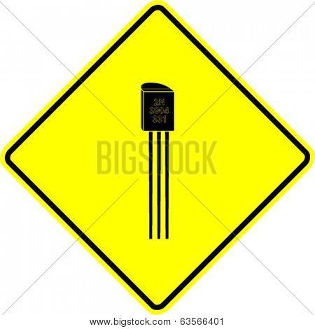 transistor sign