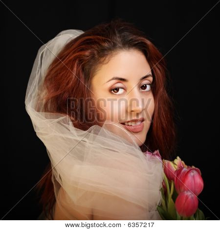 Classical Portrait Of A Bride