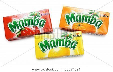 Colorful Mamba Fruit Chews