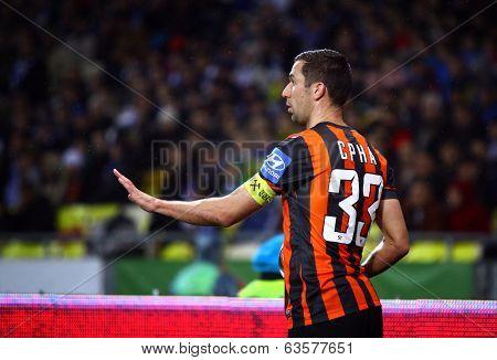 Dario Srna Of Fc Shakhtar Donetsk