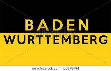 Baden Wurttemberg Germany Flag