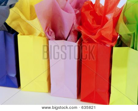 Bolsas de regalo colorido