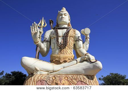 Dignified Pose Of Lord Shiva