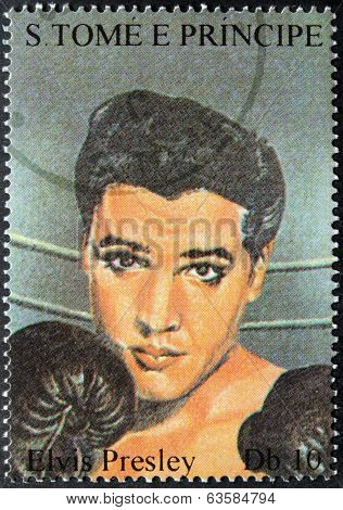 Presley S.tome Stamp