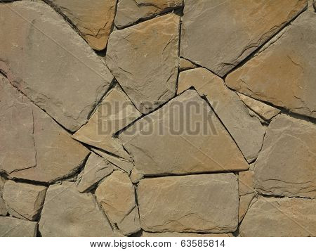 Background of stone wall texture