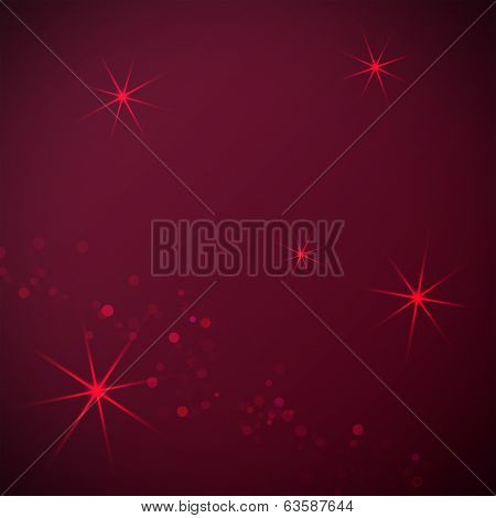 Claret background with bokeh