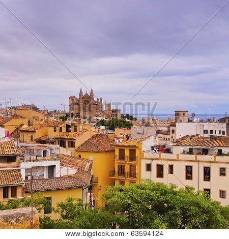 Cityscape Of Palma Of Majorca