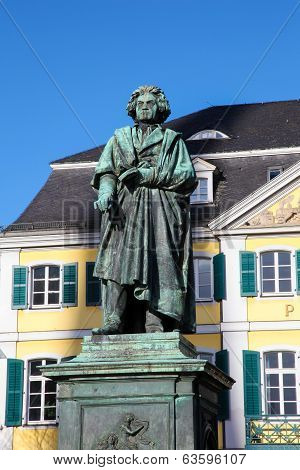 Beethoven Monument In Bonn