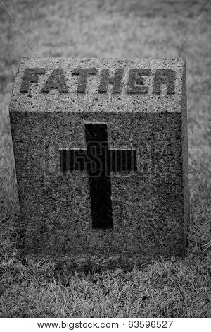 Father Headstone