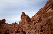picture of rock carving  - Jordan - JPG
