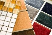 stock photo of glass-wool  - Flooring solution for every type of floor covering - JPG