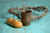 stock photo of crown-of-thorns  - Bread - JPG