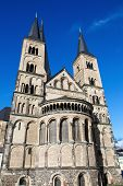 foto of bonnes  - The Bonn Minster or in German the Bonner M - JPG
