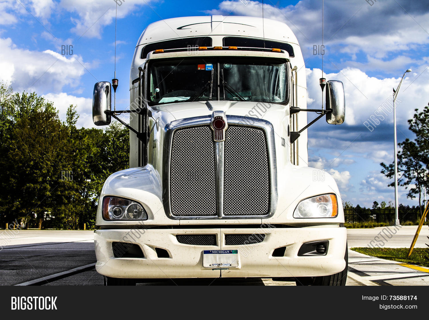 Big Rig Coming For You : Big truck coming you image photo bigstock