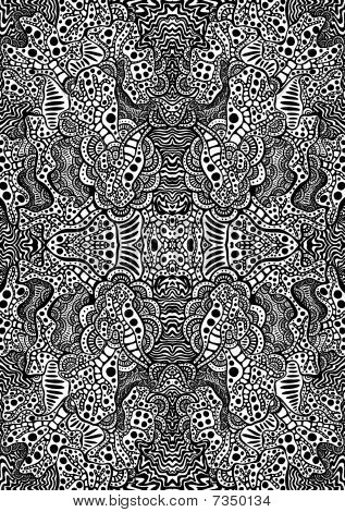 Hypnotic Tattoo Background