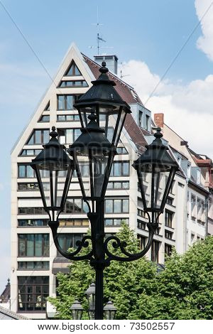 Architecture In The German City Nuremberg