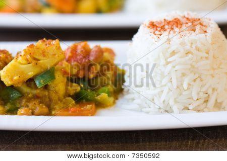 African Cauliflower Dish