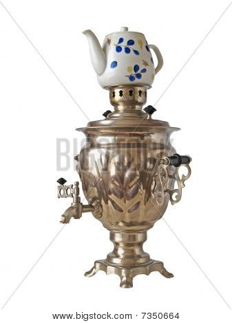 The big Russian samovar