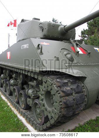 Canadian Army Tank