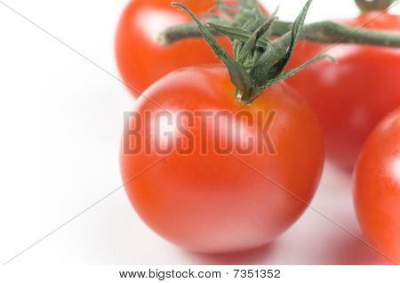 Cherry Tomato Close Up