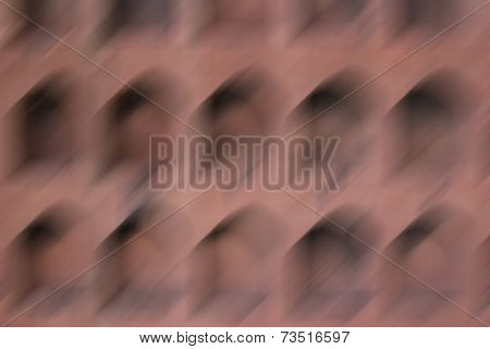 Motion Blur Of Pentagon Shape For Background