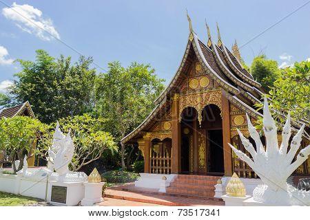 The Lao Antique Architecture Design Pavilion