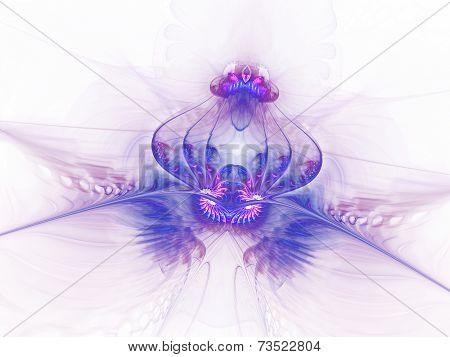 fantastic translucent flower