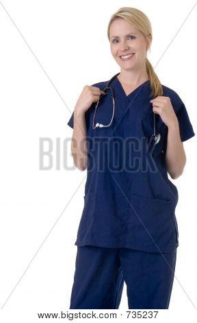 Enfermera atractiva