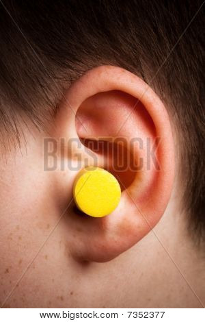 Yellow Earplug