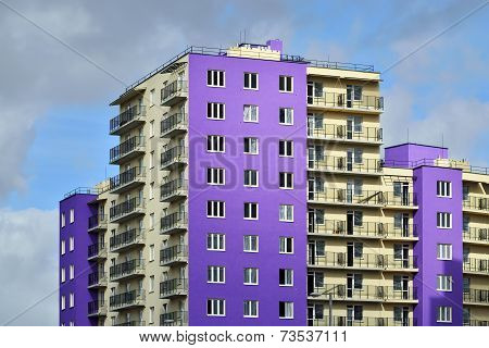 New Development In District Selma. Kaliningrad, Russia