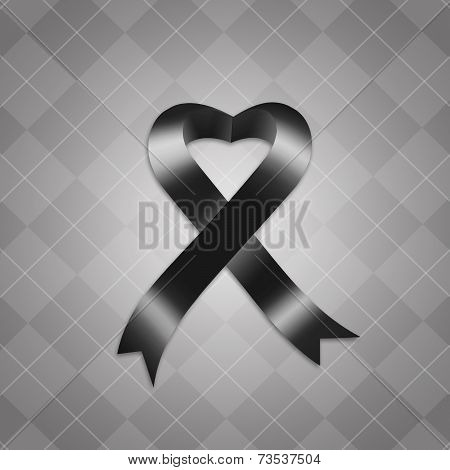 Awareness Black Ribbon