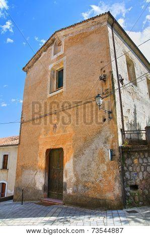 Church of Carmine. Morano Calabro. Calabria. Italy.
