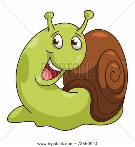 Snail CartoonIllustration