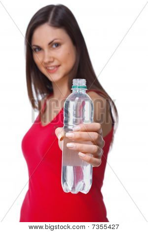 Girl With Bottle